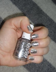 New Years Eve Nails! Essie meets Sally Hansen...again!